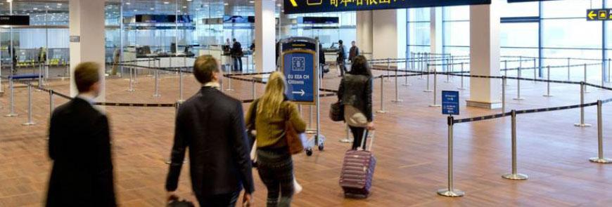 Kontrolrumsløsning til alarmmodtagelse og kommunikation i lufthavne