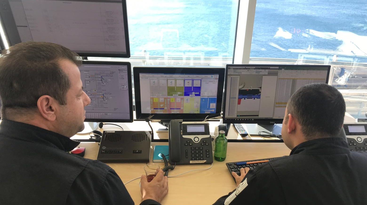 DMR and maritime communication system at STAR Refinery