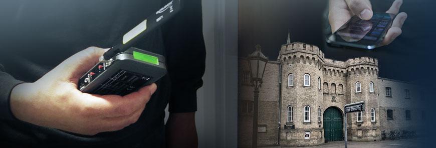 Mobiltelefon detektering og -blokering