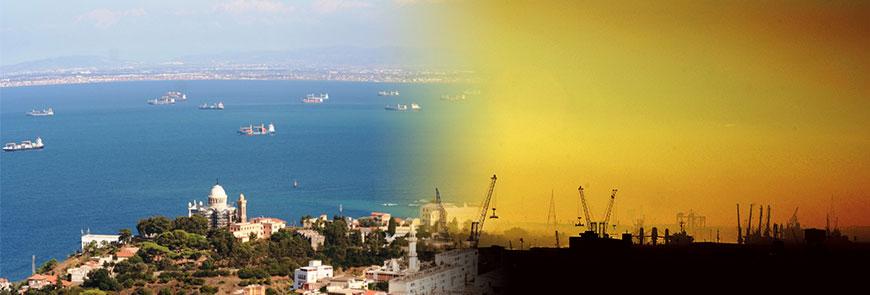 Algerian Harbours and coastal areas