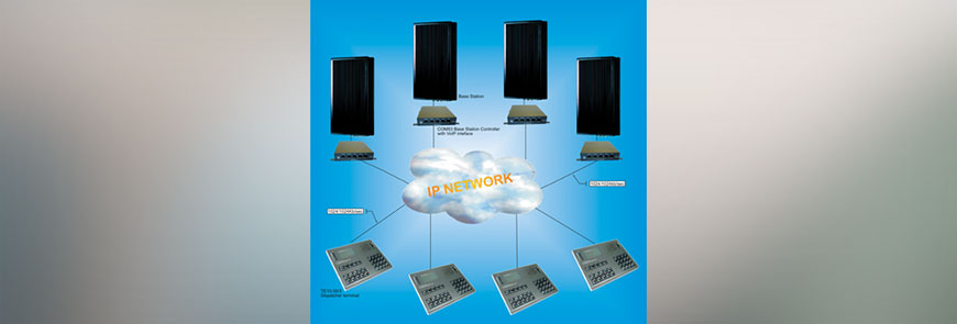 RoIP controller/dispatch terminal (TE10-39/3)